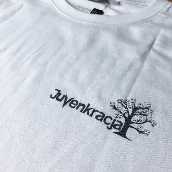 nadruk na koszulce dtg juwenkracja