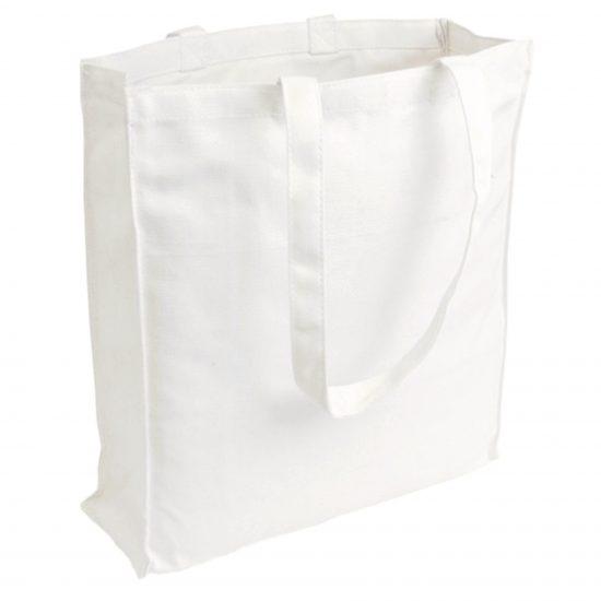 torby canvas biala 220gr