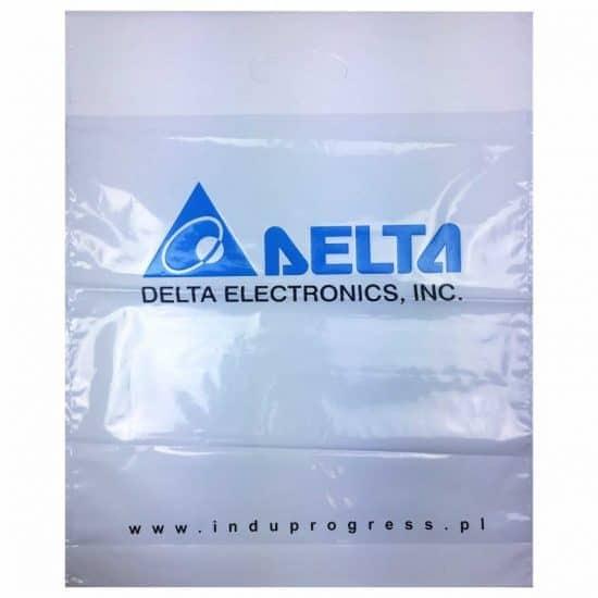 torby foliowe z nadrukiem delta