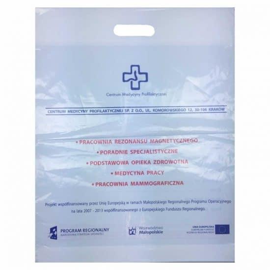 torby foliowe z nadrukiem medycyna
