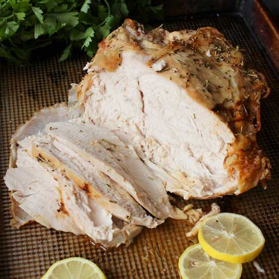 Roast Turkey Breast Recipe | One Dish Kitchen