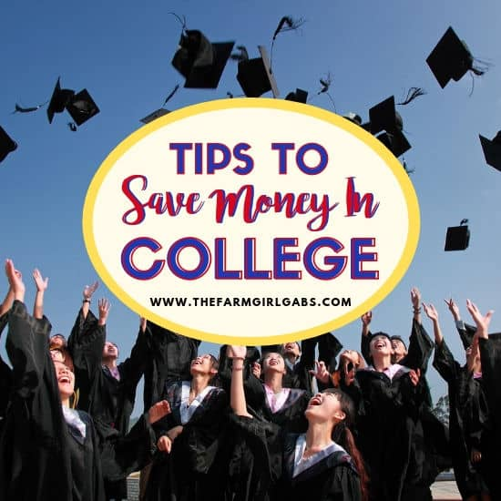 Tips To Save Money In College