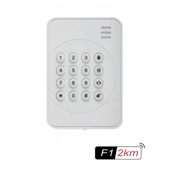 Indendørs betjeningstastatur til alarm