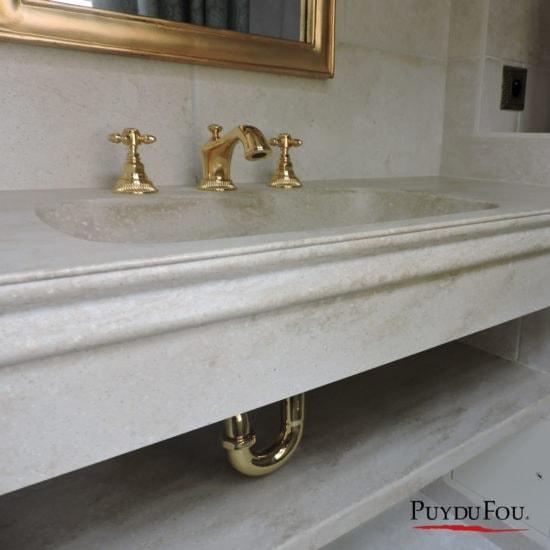 Plan vasque Puy du fou - Corian - BF PRO