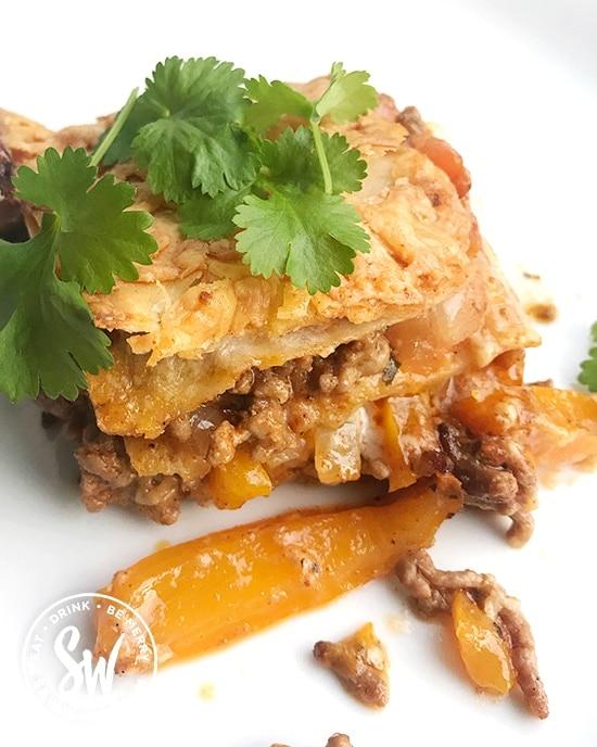 midweek meal ideas Fajita traybake