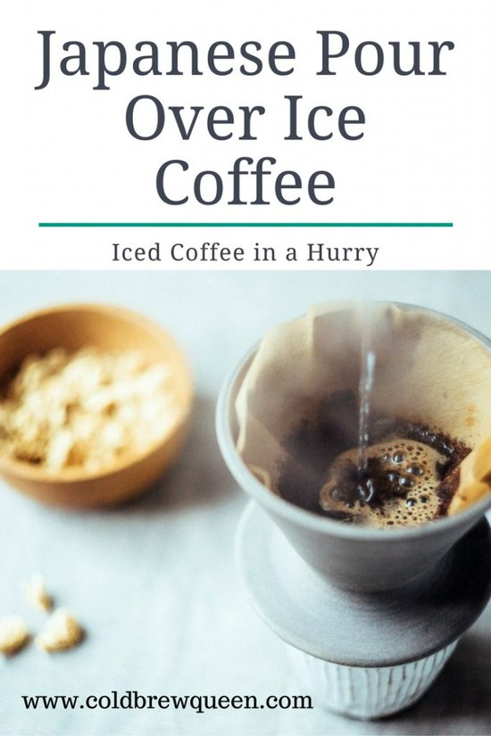 japanese pour over iced coffee