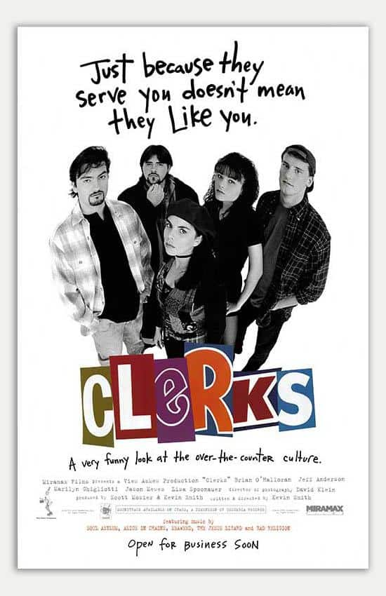 Poster of 'Clerks'.