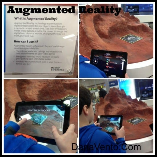 The Intel Experience at Best Buy, technology, hands on, in store, techs, gadgets, futuristic, dana vento, augmented reality