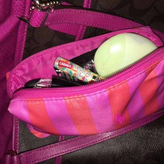 how to keep sports bags and dance bags organized, tips, tricks, things to organize, clips, lysol, spray, bags, moms, dads, parents, respect supplies, respect bags, sports, dance, gym bags, handbags, lead by example, positive parenting
