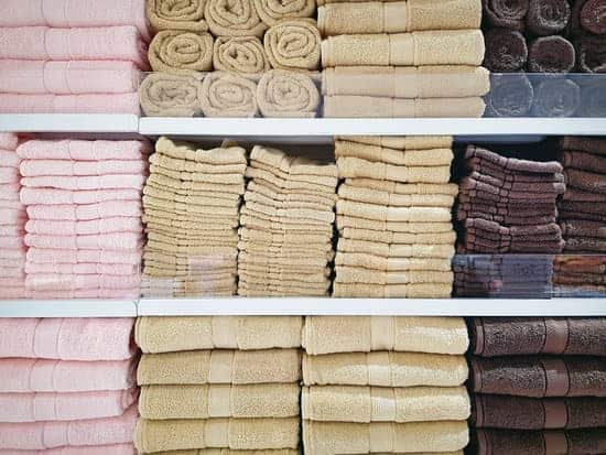 organized linens to make home look better