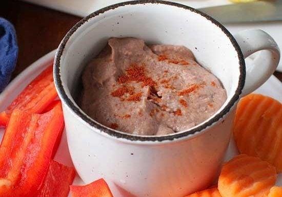 Small Batch Black Bean Hummus   One Dish Kitchen   Game Day Recipes
