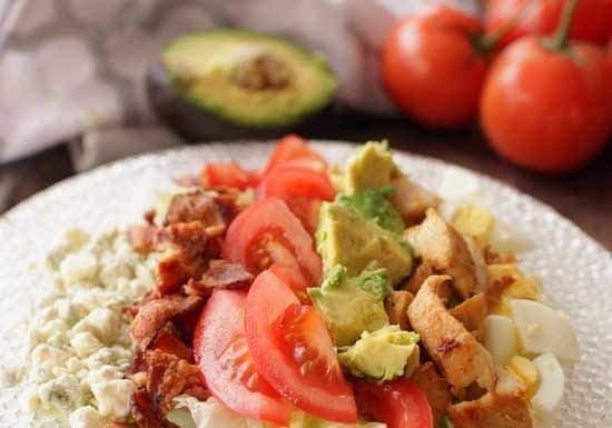 Cobb Salad For One   One Dish Kitchen