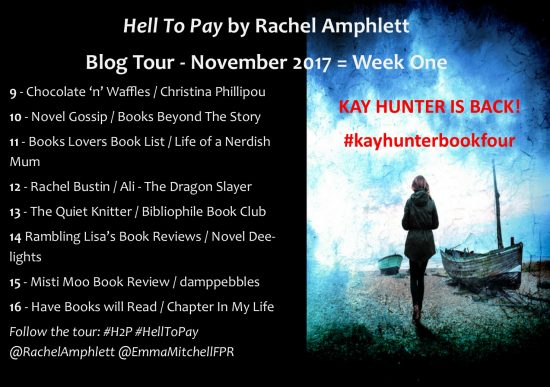 Hell to Pay Blog Tour Banner