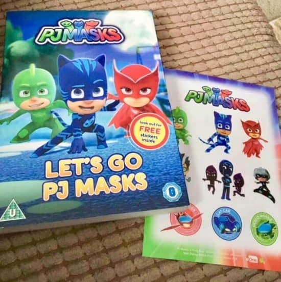 Let's Go PJ Masks DVD