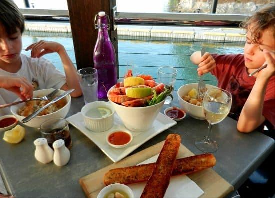 Dinner in Port Douglas