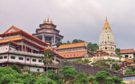 Penang, Kek Lok Si Temple. Malaysia