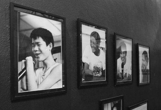 Cope Laos. Visiting the cost visitor centre Vientiane Laos