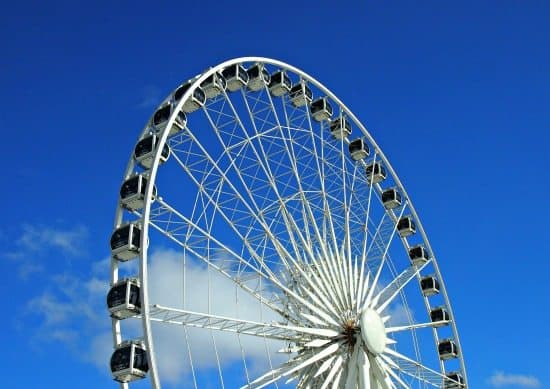 Niagara Sky Wheel. Best way to see Niagara Falls