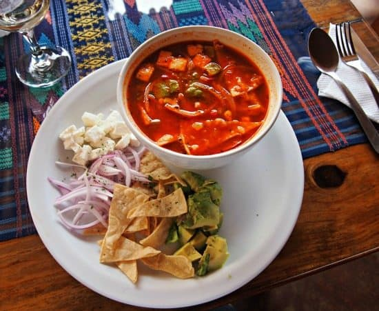Food in Antigua Guatemala