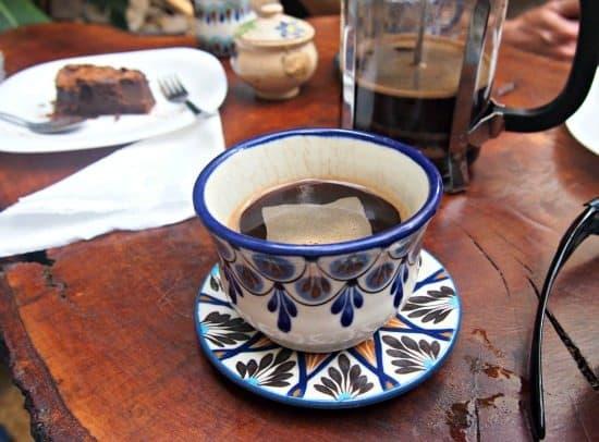 Antigua to San Pedro la Leguna. Coffe