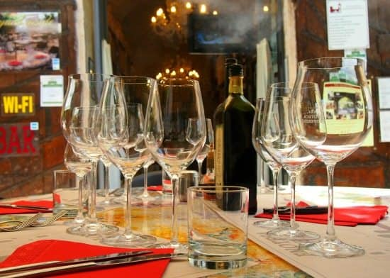 Food in Umbria. Wine tasting lunch. World Travel Family blog