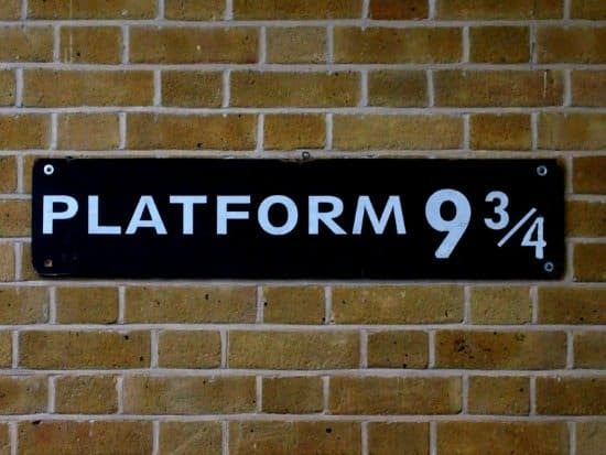 Platform 9 3/4 kings cross london