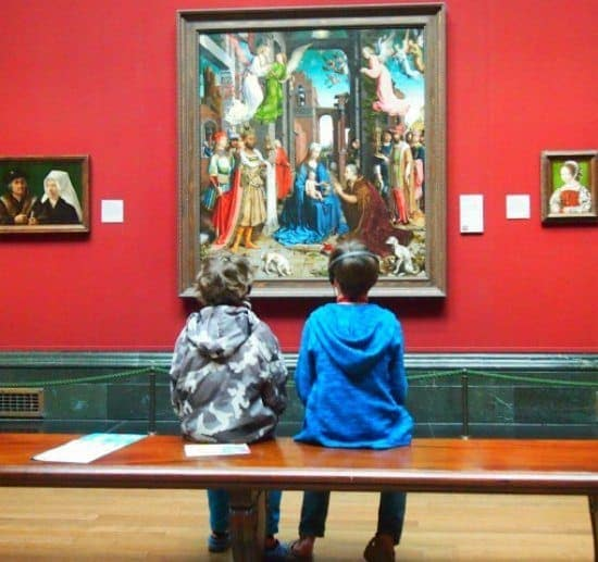 London's National Gallery With Kids