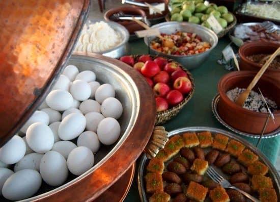 Breakfast in Istanbul Turkey Armada Hotel