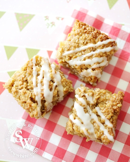 Lemon and Ginger Flapjacks perfect food
