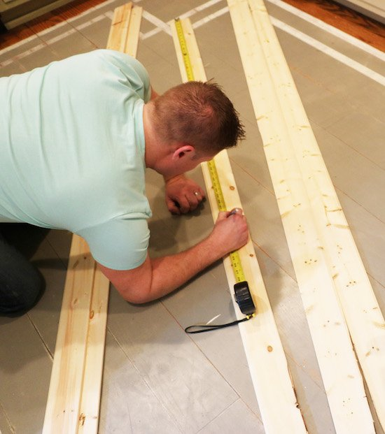 Measuring and Cutting Shiplap