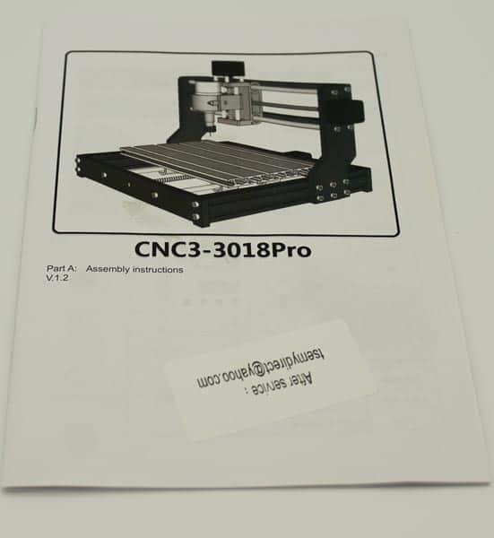 3018 cnc engraver manual