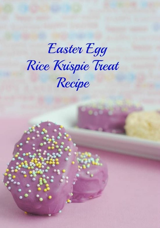 Generations of Savings Easter Egg Rice Krispie Treat Recipe https://whynotmom.comgenerationsofsavings.com/2014/02/easter-egg-rice-krispie-treats-recipe.html