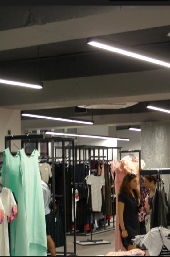 Освещение для магазинов, торговых помещений