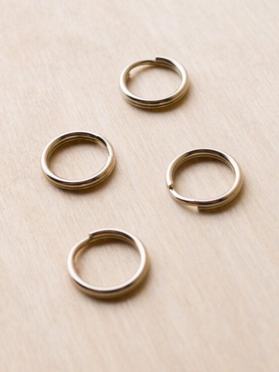 ring split ring for camera strap attachment