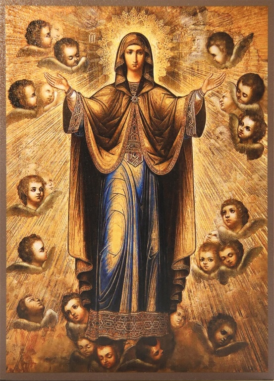 Икона Богоматери Нерушимая стена