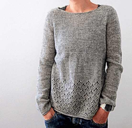 Amory Knitted sweater Love Knitting