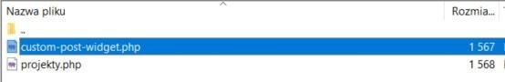 Ścieżka do nowego pluginu dodającego widgety do WPBakery 2