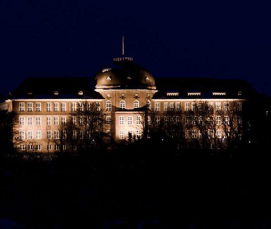 Earth Hour 2021 – Flensburg macht mit! Goethe Schule Flensburg Nacht