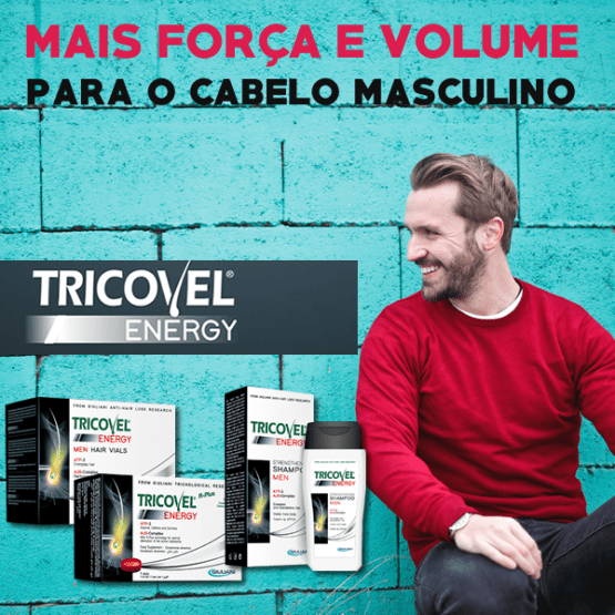 Tricovel Energy Anti-queda Homeme