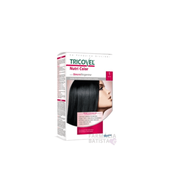Tinta para cabelo Tricovel N1
