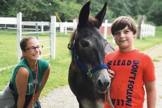 Rescuing animals, helping children with special needs