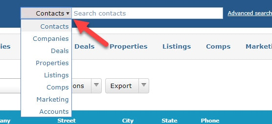 ClientLook Tip Using The Fast Search Bar_1