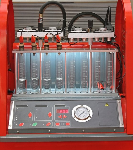 fuel injection service machine