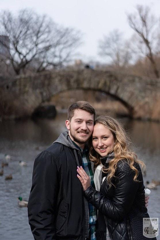 Photo 11 Bow bridge wedding proposal in Central Park | VladLeto