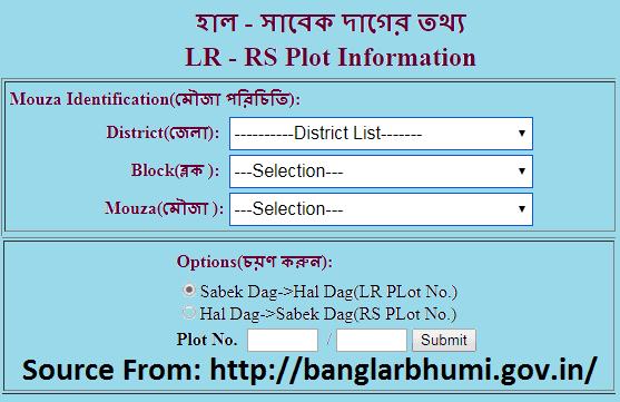 RS-LR Plot Information