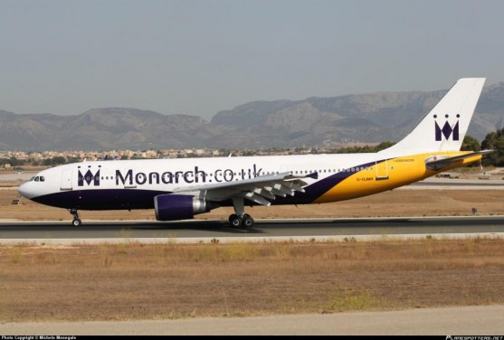 Airbus A300-600 Monarch Airlines airplane fly wings big plane download amazing 6