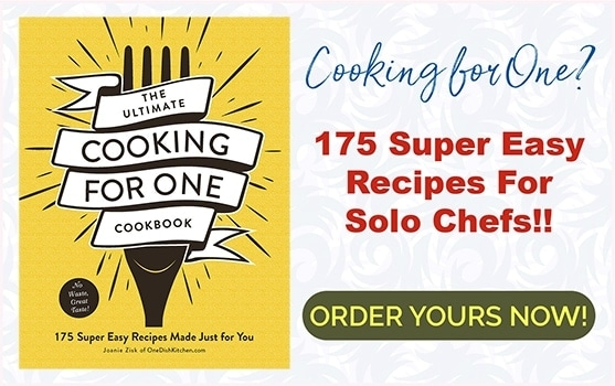 Order Your Ultimate Cooking for One Cookbook Now!