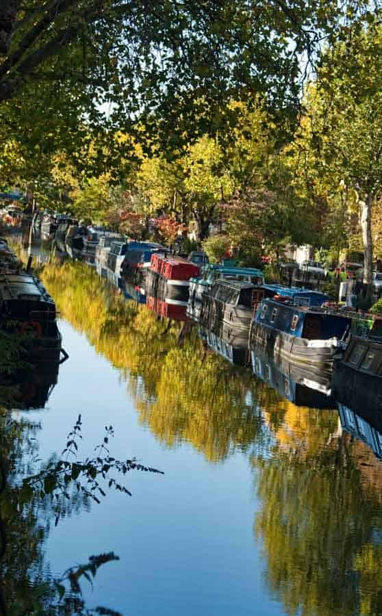 Boats in Little Venice
