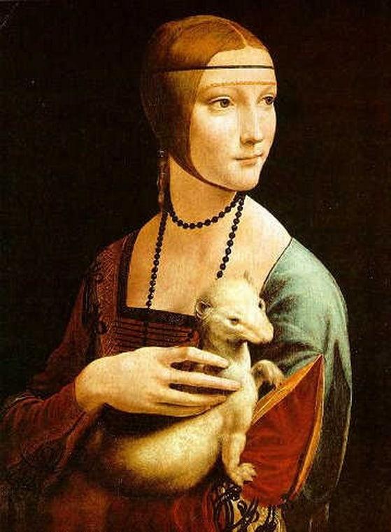 5 Características da Arte Renascentista que mudaram o Mundo para Sempre Artes & contextos Lady with an Ermine by Leonardo da Vinci 1