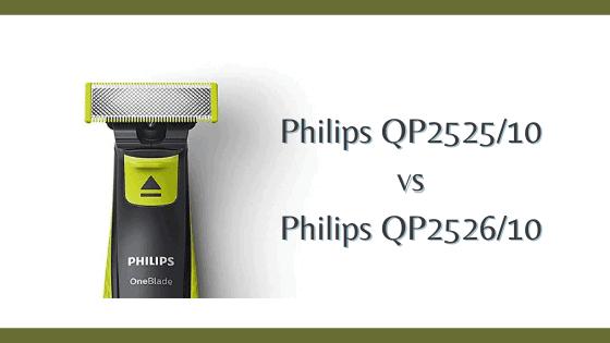 Philips qp2525_10 vs qp2526_10